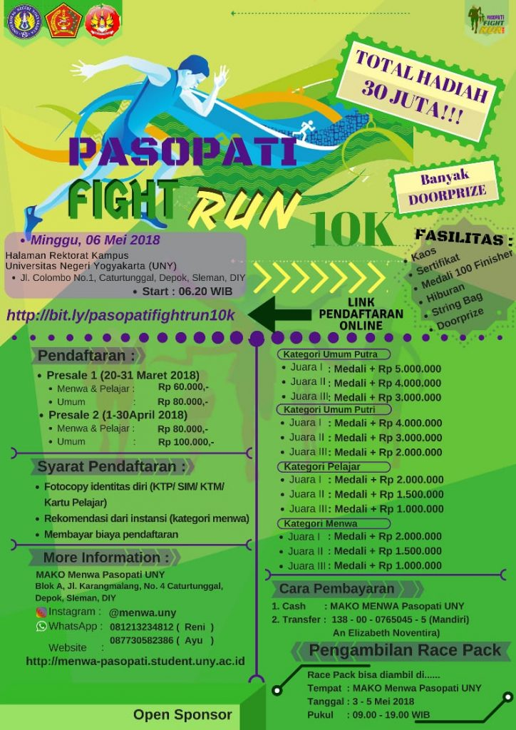 Pasopati Fight Run 10K
